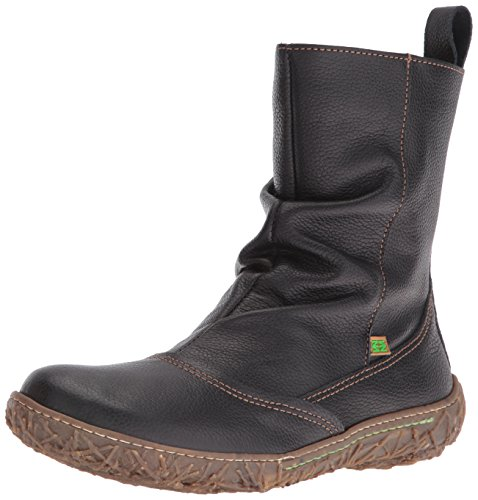 El Naturalista N722 Soft Grain Nido, Stivali a Gamba Larga Donna, Nero (Black N01), 42 EU