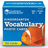 Learning Resources Kindergarten Vocabulary Photo Cards