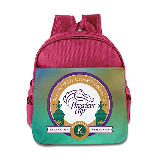 Breeders' Cup Event Logo Kids School Pink Backpack Bag (Pharoah Hat)