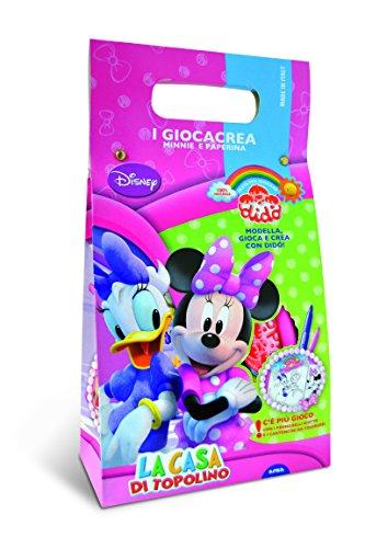 Didò 396100 - Giocacrea Disney Minnie e Paperina Pasta per Giocare