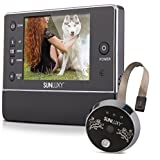 sunluxy 3 5 zoll digitaler video t rspion tft lcd monitor digital t rspion ir kamera t rkamera. Black Bedroom Furniture Sets. Home Design Ideas