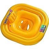 Intex 56587EU Deluxe Baby Float - Flotador con asiento para bebs, 4 cmaras de aire [importado de Alemania]