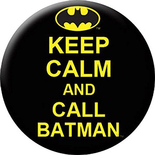 "Button set DC Comics Batman Keep Calm and Call Batman Button (6-Piece), 1.25"" at Gotham City Store"