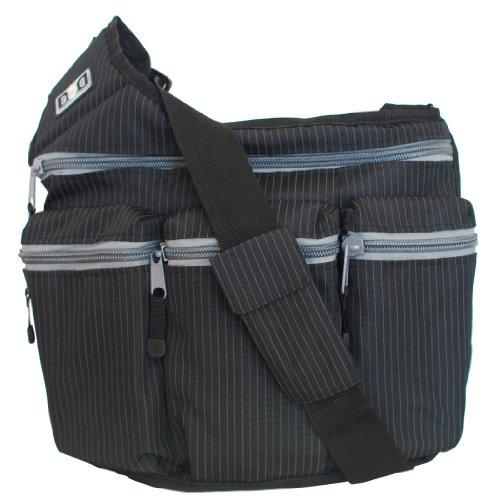 diaper-dude-dd-ps100-borsa-fasciatoio-modello-tascapane-fantasia-gessata-original-style-nero-nero-sc