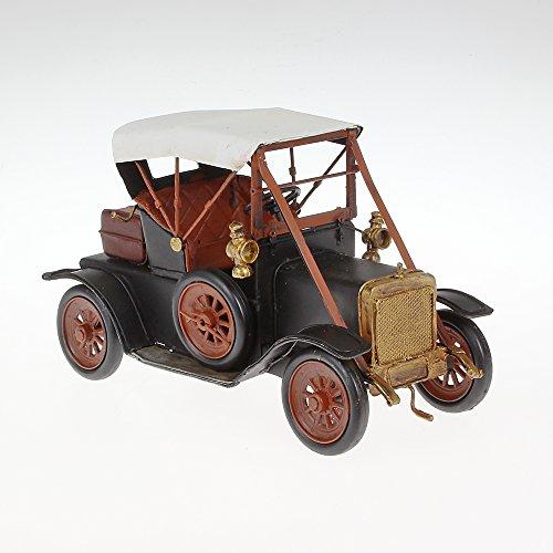 Metal Model Large Vintage Model 2x Approx. 27cm x 11cm x 17cm black