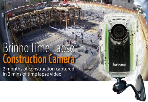 Buy Brinno Time Lapse BCC100 Construction Camera (Green/Black ...