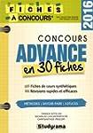 Concours Advance : 30 fiches m�thodes...