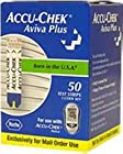 ACCU-CHEK Aviva Plus Mail Order Test Strips 50-Count Box