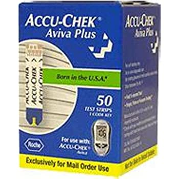ACCU-CHEK Aviva Test Strips are for testing glucose in whole blood.  For use with ACCU-CHEK Aviva.