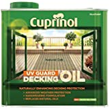 Cuprinol 2.5L Decking Oil and Protector - Natural Oak