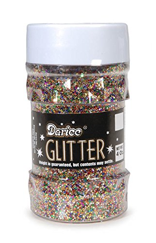 Darice 1146-47 Big Value Glitter, 4-Ounce, Multi Color