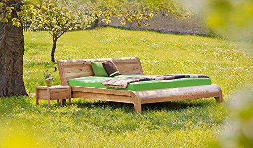 Bett aus Kirsche Zirbenbetten in Kern-Buche, Zirbe, Eiche, Kirsche, Nussbaum (Kirsche geölt, 180 x 200) jetzt bestellen