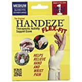 Handeze Flex-Fit Therapeutic Gloves, Medium, Size 4