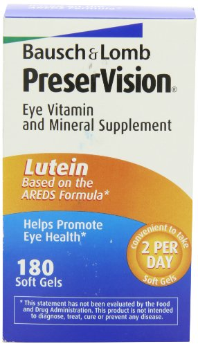 Bausch & Lomb Preservision Eye Vitamin and Mineral Supplement