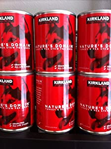 12 (13.2 Oz) Cans Kirkland Turkey and Pea Stew for Dogs