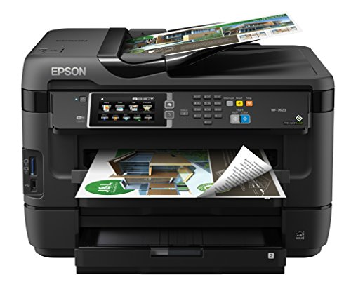 Epson WorkForce WF-7610 Wireless Color All-in-One Inkjet Printer with Scanner and Copier (Epson Laser Color Printer compare prices)