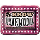 W7 brow parlour the complete eyebrow grooming kit (pink tin)