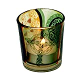 Votiv-und-Teelichtglas-6x5cm-Verschiedene-Varianten-Keltischer-Knoten