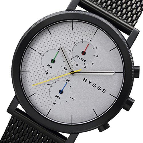 ピーオーエス POS ヒュッゲ HYGGE MSM2204BC メンズ 腕時計 HGE020004 シルバー [並行輸入品] 腕時計 国内