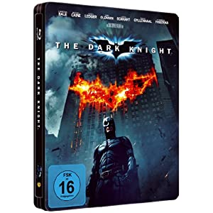 Dark Knight (limitiertes Steelbook, exklusiv bei Amazon.de) [Blu-ray]