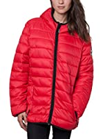 Geographical Norway Chaqueta Guateada Carolina (Rojo)