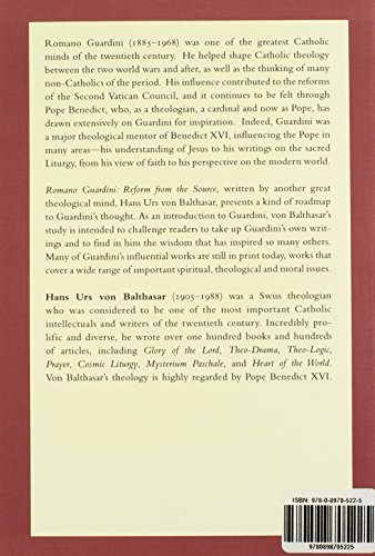 Romano Guardini: Reform from the Source