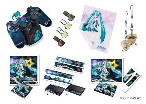 Hatsune miku -Project DIVA- F Accessories set
