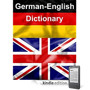 German-English Kindle Dictionary