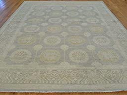 8 x 10 HAND KNOTTED GRAY PESHAWAR ORIENTAL RUG VEG DYES G20554