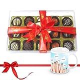 Combo Of Chocolates And Truffles Collection With Friendship Mug - Chocholik Luxury Chocolates