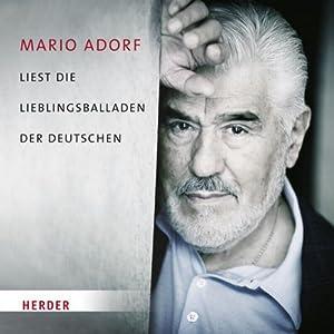 Mario Adorf liest die Lieblingsballaden der Deutschen Hörbuch