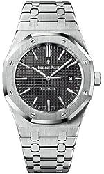 Audemars Piguet Royal Oak Black Dial Stainless Steel Mens Watch 15400STOO1220ST01