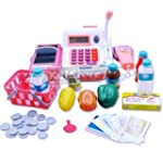 Kids Toy Cash Register And Money