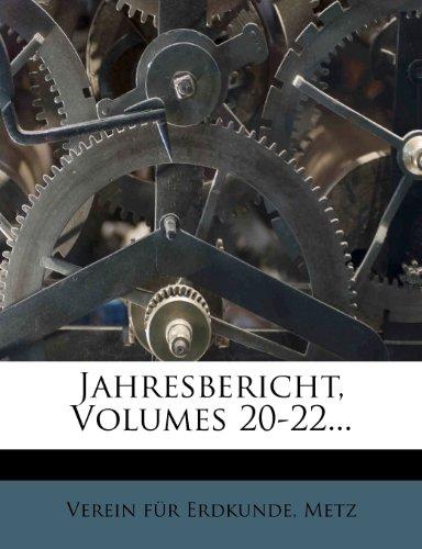Jahresbericht, Volumes 20-22...