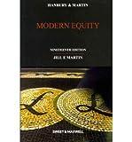 Hanbury & Martin: Modern Equity (Paperback) - Common