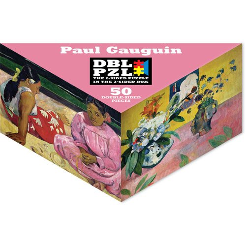 Paul Gauguin DBL PZL 50 Pc Double Sided Jigsaw Puzzle