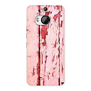 Ripped Wood Back Case Cover for HTC One M9 Plus
