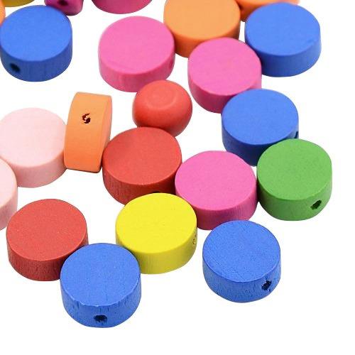 pandahall100-abalorios-planas-redondas-de-madera-de-color-mezclado-tenido-sin-plomo