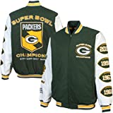 NFL Green Bay Packers Men's Hall of Fame Commemorative Jacket, Hunter Green, XX-Large at Amazon.com