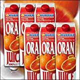オランフリーゼル ●タロッコジュース (ブラッドオレンジジュース) 1L×6本