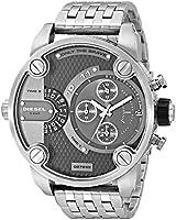 Diesel FALL 2012 DZ7259 57mm Silver Steel Bracelet & Case Mineral Men's Watch