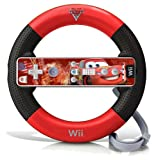 Wii Cars 2 Racing Wheel - Lightning McQueen