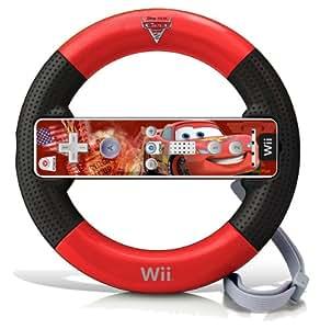 Wii Cars 2 Racing Wheel - Lightning McQueen