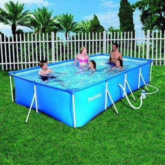 Avis piscine hors sol tubulaire rectangulaire 3m x 2 01m x for Piscine tubulaire rectangulaire en solde