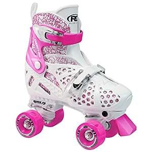 Roller Derby Girls Trac Star Adjustable Quad Skates Medium 12-2
