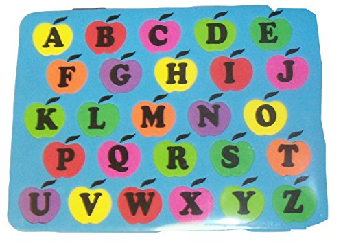 Kingsbridge Foam Puzzle ~ Alphabet of Apples (Uppercase) - 1