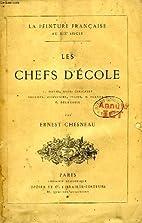 Les chefs d'école by Ernest Chesneau