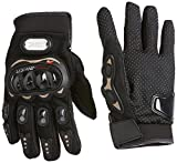 #2: Probiker Leather Motorcycle Gloves (Black, M)