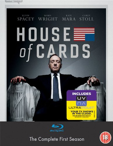House of Cards - Season 01 [Reino Unido] [Blu-ray]