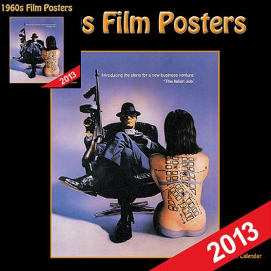 60s Film Poster Wall Calendar 2013||RF10F